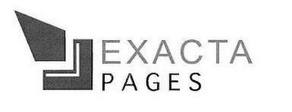 mark for EXACTA PAGES, trademark #85121167
