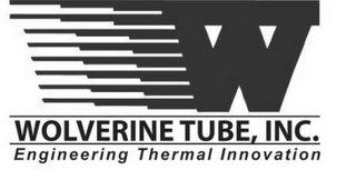 mark for W WOLVERINE TUBE, INC. ENGINEERING THERMAL INNOVATION, trademark #85121512
