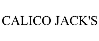 mark for CALICO JACK'S, trademark #85121744