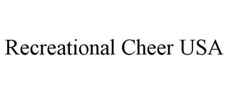 mark for RECREATIONAL CHEER USA, trademark #85121760