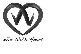 mark for WIN WITH HEART, trademark #85121816