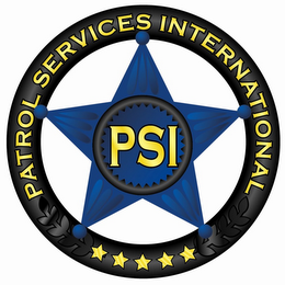 mark for PSI PATROL SERVICES INTERNATIONAL, trademark #85122048