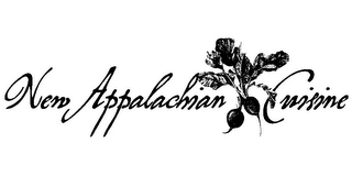mark for NEW APPALACHIAN CUISINE, trademark #85124448