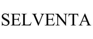 mark for SELVENTA, trademark #85125687