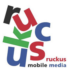 mark for RUCKUS MOBILE MEDIA, trademark #85128406