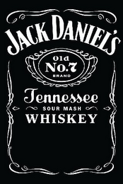 mark for JACK DANIEL'S OLD NO. 7 BRAND TENNESSEE SOUR MASH WHISKEY, trademark #85129461