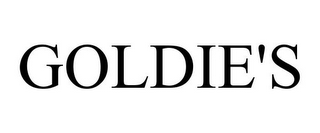 mark for GOLDIE'S, trademark #85131193