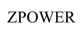 mark for ZPOWER, trademark #85131520