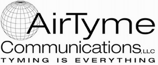mark for AIR TYME COMMUNICATIONS, LLC TYMING IS EVERYTHING, trademark #85131966