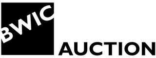 mark for BWIC AUCTION, trademark #85132436