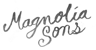 mark for MAGNOLIA SONS, trademark #85133957