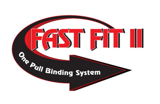 mark for FAST FIT II ONE PULL BINDING SYSTEM, trademark #85134693