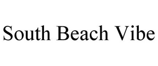 mark for SOUTH BEACH VIBE, trademark #85136981
