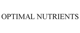 mark for OPTIMAL NUTRIENTS, trademark #85137172