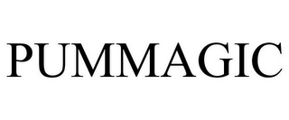 mark for PUMMAGIC, trademark #85138140