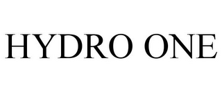 mark for HYDRO ONE, trademark #85138515
