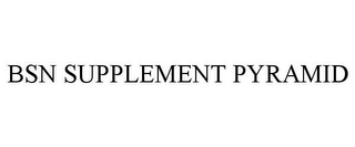 mark for BSN SUPPLEMENT PYRAMID, trademark #85138874