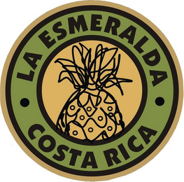 mark for LA ESMERALDA COSTA RICA, trademark #85138924