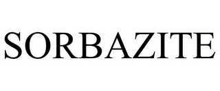 mark for SORBAZITE, trademark #85139648
