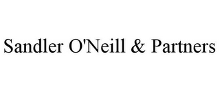 mark for SANDLER O'NEILL & PARTNERS, trademark #85140969