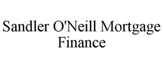 mark for SANDLER O'NEILL MORTGAGE FINANCE, trademark #85141140