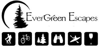 mark for EVERGREEN ESCAPES, trademark #85141247