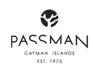 mark for PASSMAN CAYMAN ISLANDS EST. 1975, trademark #85141470