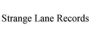 mark for STRANGE LANE RECORDS, trademark #85141553