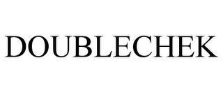 mark for DOUBLECHEK, trademark #85141861