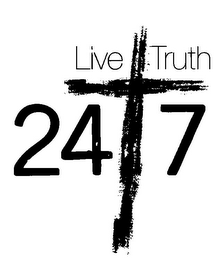 mark for LIVE TRUTH 24 7, trademark #85142111
