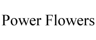 mark for POWER FLOWERS, trademark #85142695