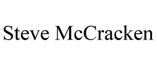mark for STEVE MCCRACKEN, trademark #85142746