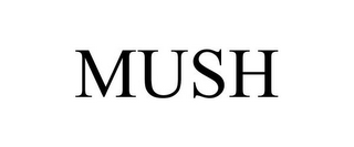 mark for MUSH, trademark #85144333