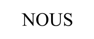 mark for NOUS, trademark #85147526