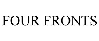 mark for FOUR FRONTS, trademark #85147598