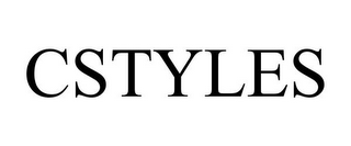 mark for CSTYLES, trademark #85148216