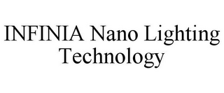 mark for INFINIA NANO LIGHTING TECHNOLOGY, trademark #85148558