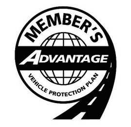 mark for MEMBER'S ADVANTAGE VEHICLE PROTECTION PLAN, trademark #85151761