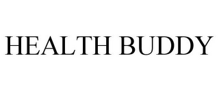 mark for HEALTH BUDDY, trademark #85152509