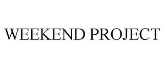 mark for WEEKEND PROJECT, trademark #85152961
