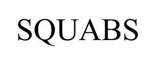 mark for SQUABS, trademark #85153022