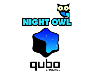 mark for NIGHT OWL QUBO CHANNEL, trademark #85153405
