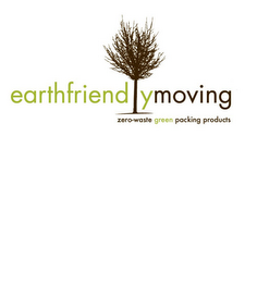 mark for EARTHFRIENDLYMOVING ZERO-WASTE GREEN PACKING PRODUCTS, trademark #85154341