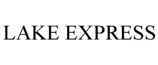 mark for LAKE EXPRESS, trademark #85155750