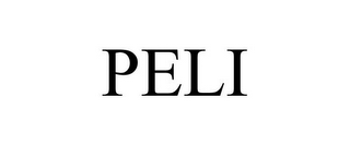 mark for PELI, trademark #85156416