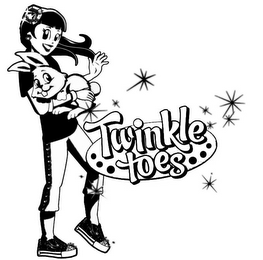 mark for TWINKLE TOES, trademark #85156532
