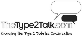 mark for THETYPE2TALK.COM CHANGING THE TYPE 2 DIABETES CONVERSATION, trademark #85156755