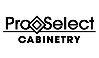 mark for PRO SELECT CABINETRY, trademark #85156764