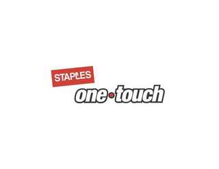 mark for STAPLES ONE·TOUCH, trademark #85157480
