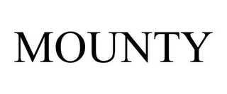 mark for MOUNTY, trademark #85157710